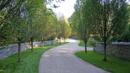 Cotuit, Mass Residence & Rushy Marsh Farm Landscape Stonework