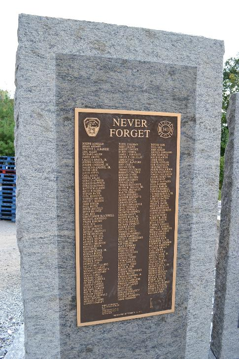 Monatuak NY 911 Monument