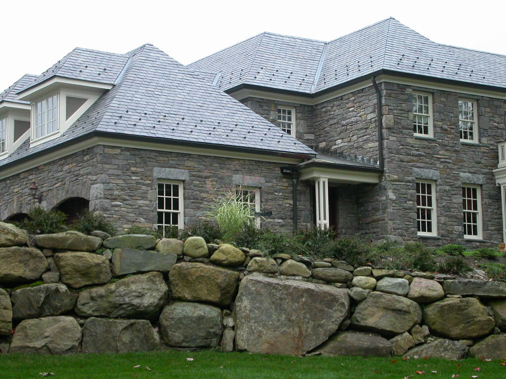 Granite veneer home
