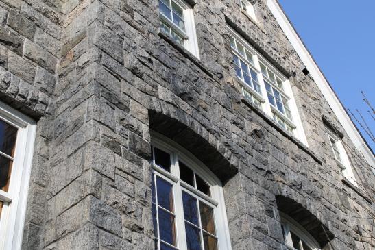 granite veneer installed