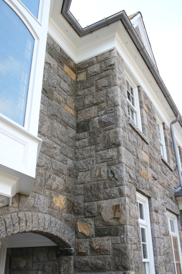 Granite home facade