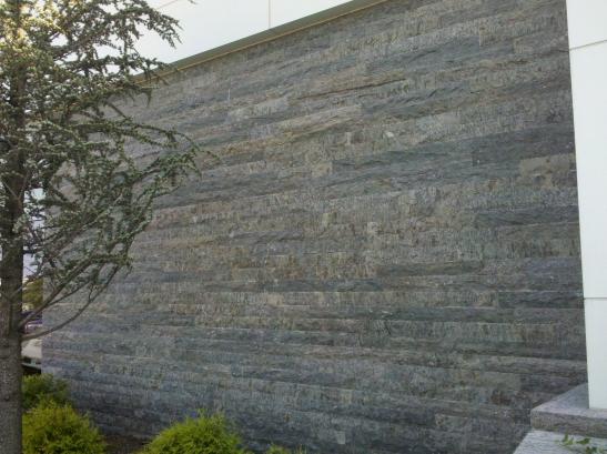 Veneer on Exterior Wall