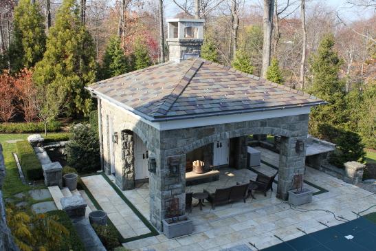 Granite Mansion Homes Alpine NJ Stone Home