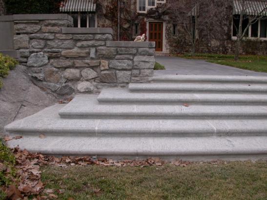 Stone Stairways, Stone Patios, Steppers, Stair Treads, Stone Steps   Legacy  Stoneworks Portfolio